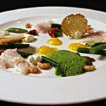Ceviche van zeebaars met groenten